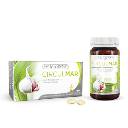 MN408-G - Circulmar Garlic Oil Capsules
