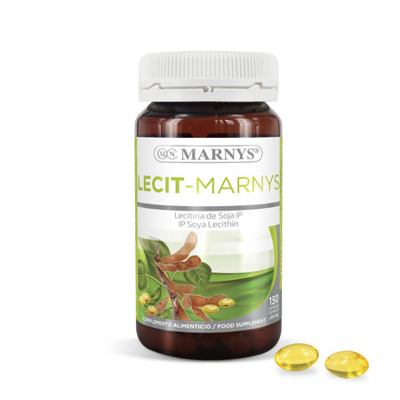 MN410 - Lecit-Marnys Soy Lecithin capsules