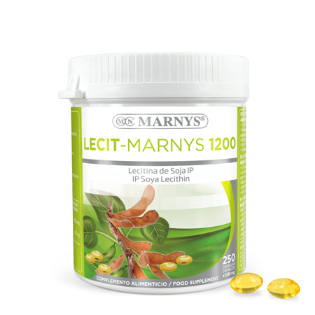 MN416 - Lecit-Marnys Soy Lecithin capsules