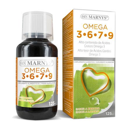 MN454 Omega 3, 6, 7, 9 125 ml