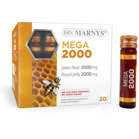 MNV114 - Royal Jelly Mega 2000 mg vials