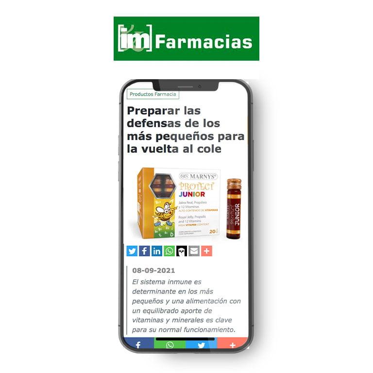 IM FARMACIAS | Preparar las defensas de los más pequeños para la vuelta al cole