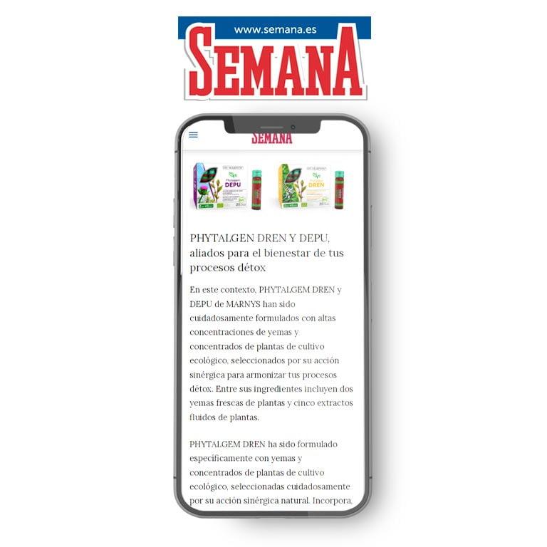 SEMANA | PHYTALGEM DREN Y DEPU, aliados para el bienestar de tus procesos détox