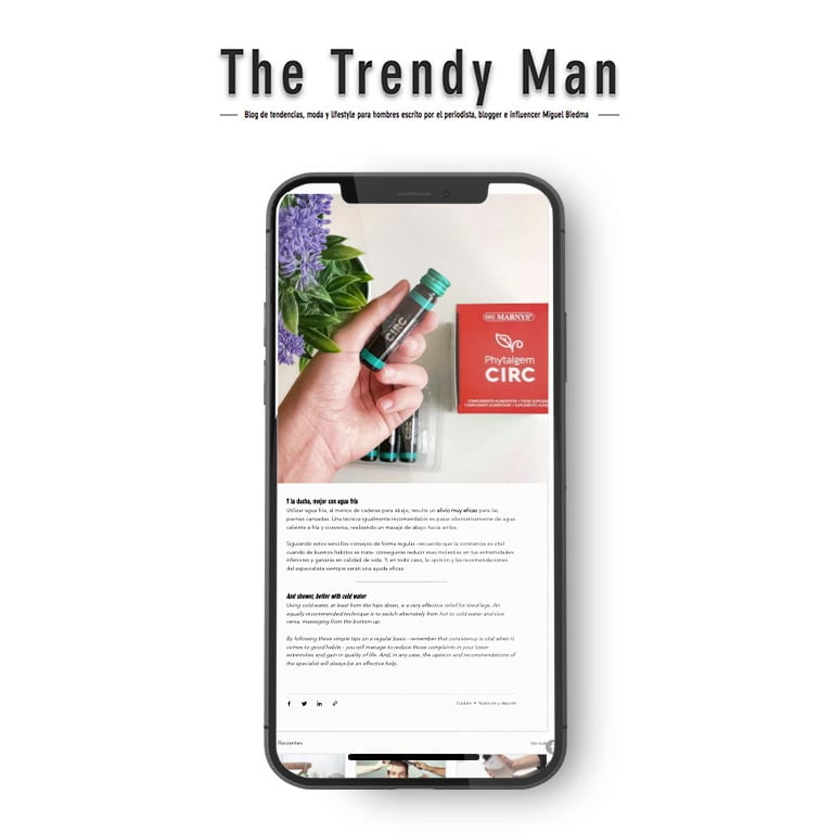 The Trendy Man | ¿PIERNAS CANSADAS? ESTO TE VA A INTERESAR
