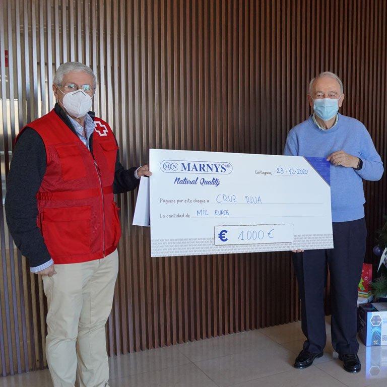 Entregamos nuestra donación anual a organizaciones benéficas