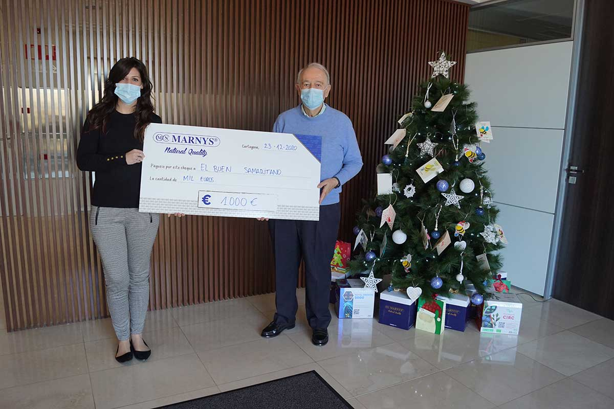 Donación Buen Samaritano MARNYS