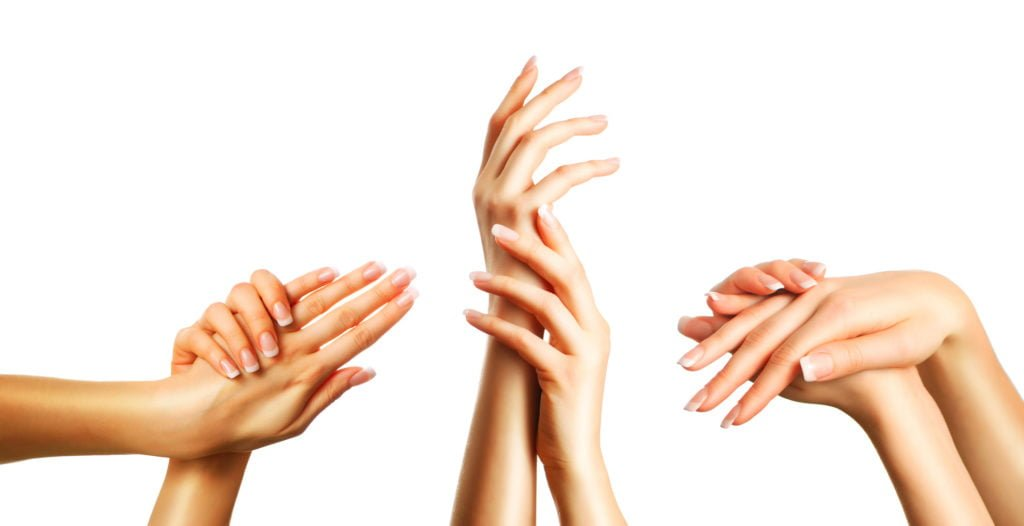 Beautiful hands set