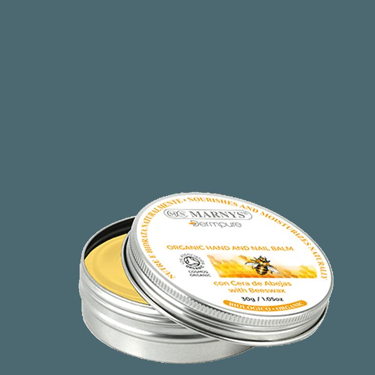 balsamo bio manos uñas con cera de abejas marnys dermpure