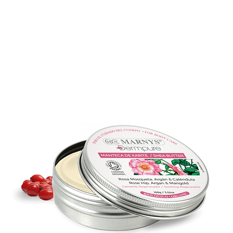 DERM002 - Rosehip, argan and marigold shea butter