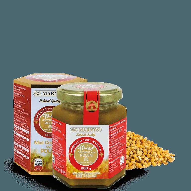 MN649 - Cremiger Honig mit Blütenpollen