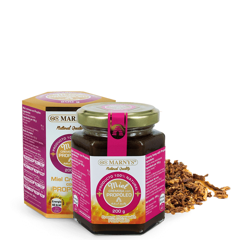 MN650 - Creamy honey with Propolis