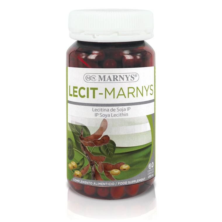MN411 Lecit-Marnys 60 capsules X 1200 mg