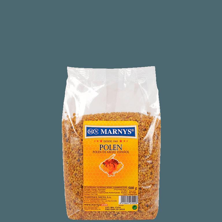 MN603 - Pollen d'abeilles Granulé 500 gr