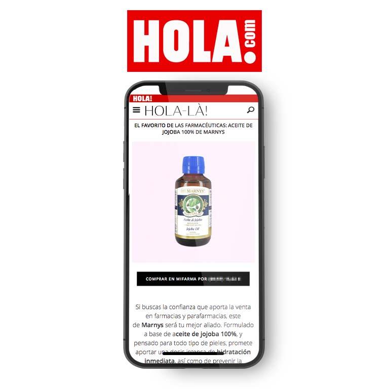 HOLA | Compra aquí tu mejor aliado contra el envejecimiento: aceite de jojoba