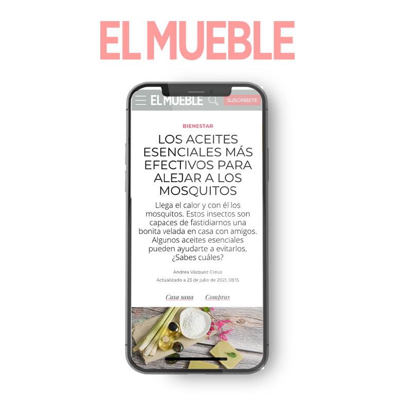 EL MUEBLE | Los aceites esenciales más efectivos para alejar a los mosquitos