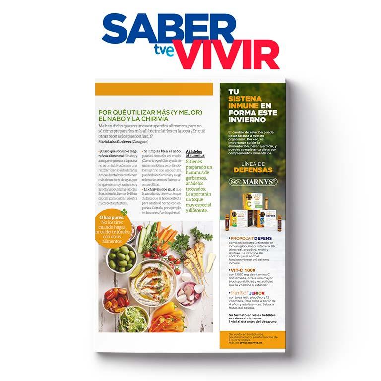 SABER VIVIR | Tu sistema inmune en forma este invierno