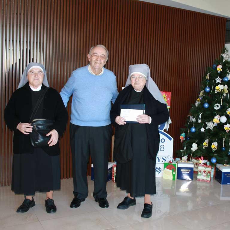 Martínez Nieto S.A. - MARNYS realiza las donaciones anuales a organizaciones benéficas