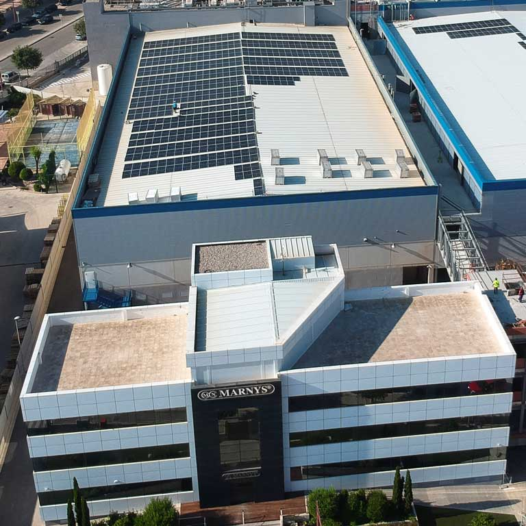 MARNYS® will have the largest solar power system in the Region of Murcia