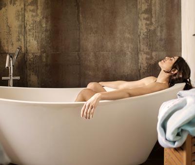 Aromaterapia baño