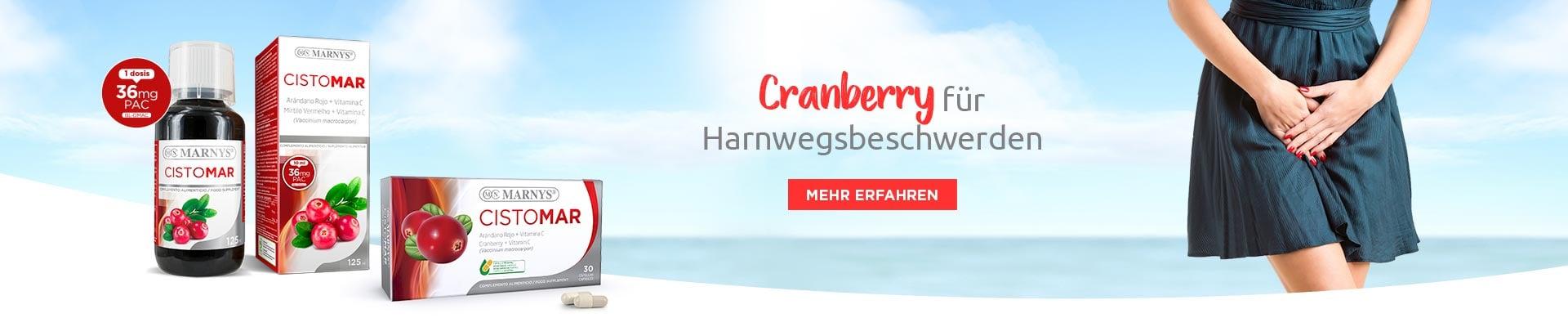 Cranberry für Harnwegsbeschwerden