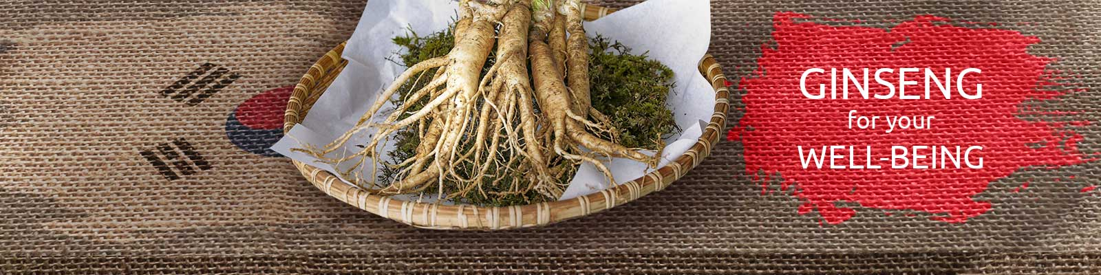 GINSENG FOR YOUR WELL-BEING