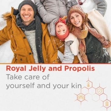 Royal Jelly and Propolis. Natural care for the change of season