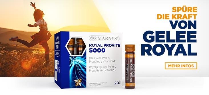 Spüre die Kraft von Gelee Royal