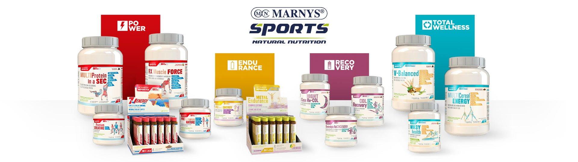 Marnys Sports - Nutrición Deportiva