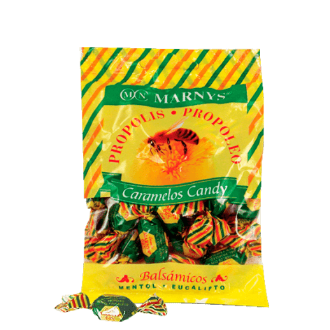 MN612 - Bonbons propolis au miel, menthol et eucalyptus