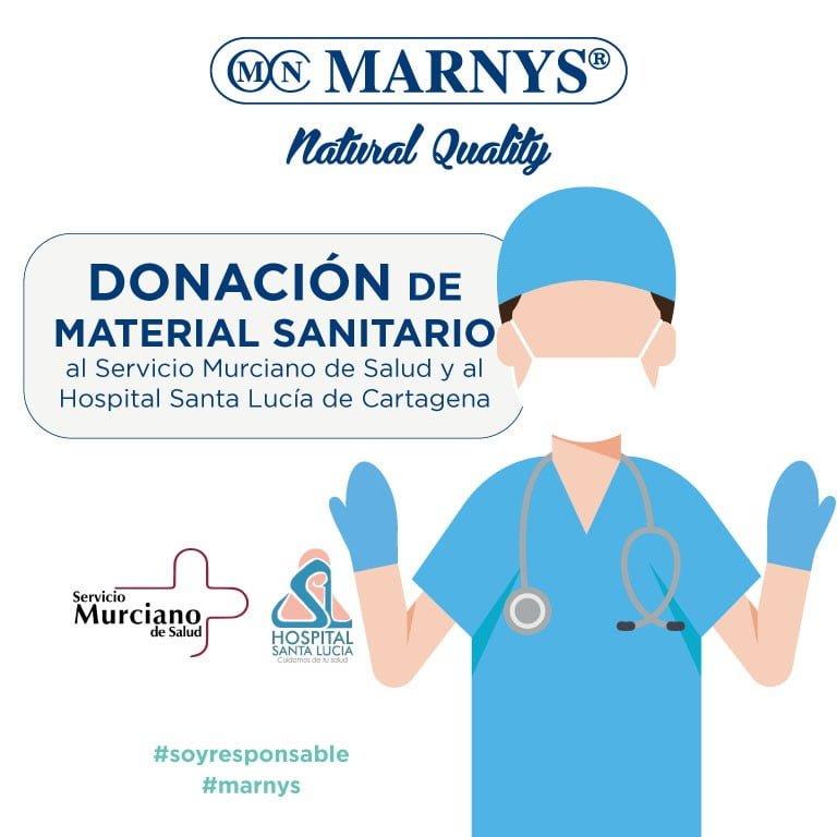 MARNYS® – MARTÍNEZ NIETO, S.A. mantiene su máximo compromiso con el bienestar y la salud