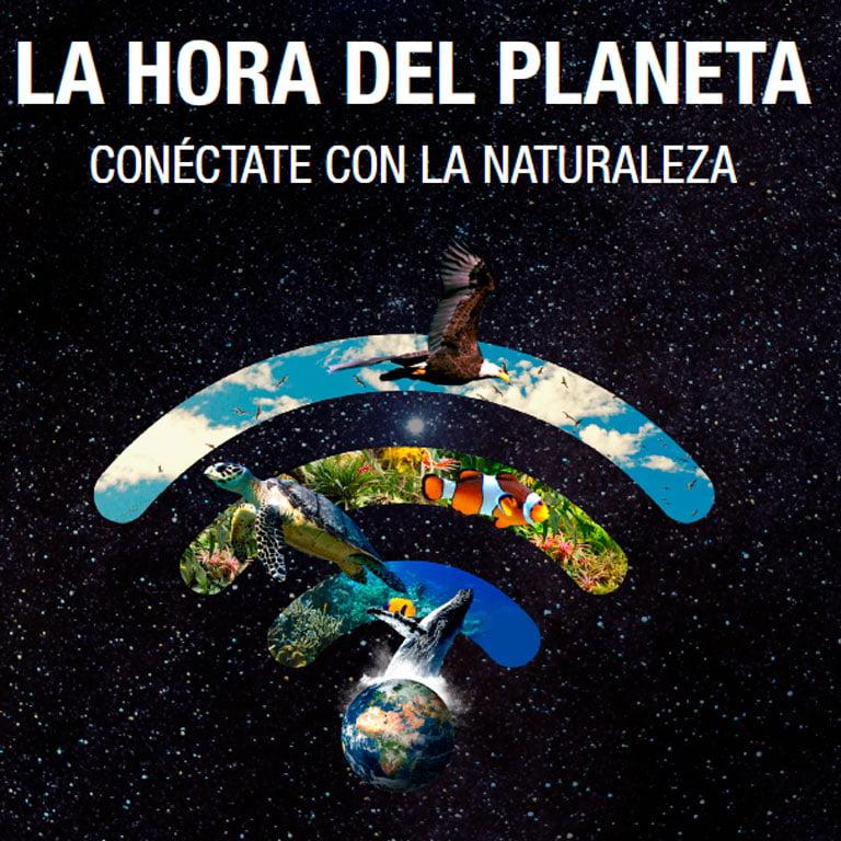 Nos unimos a La Hora del Planeta 2021
