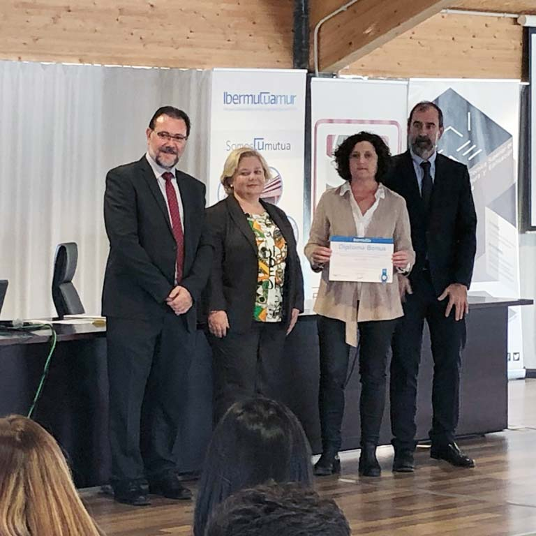 Martínez Nieto, S.A. recognised for its work in the Labour Risk Prevention