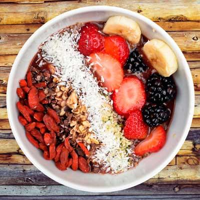 frutas y radicales libres
