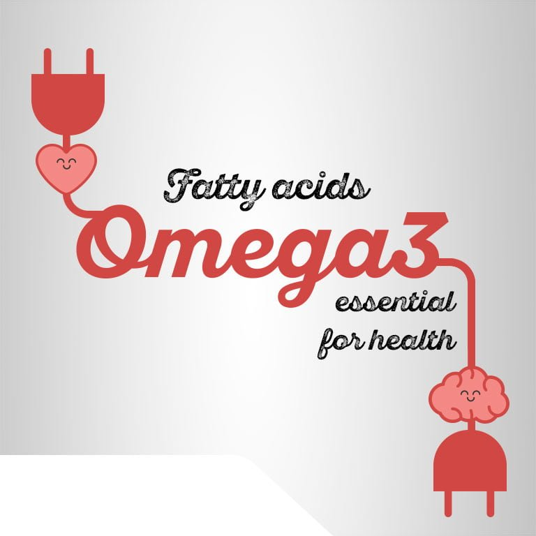 Omega-3 fatty acids, essential for health