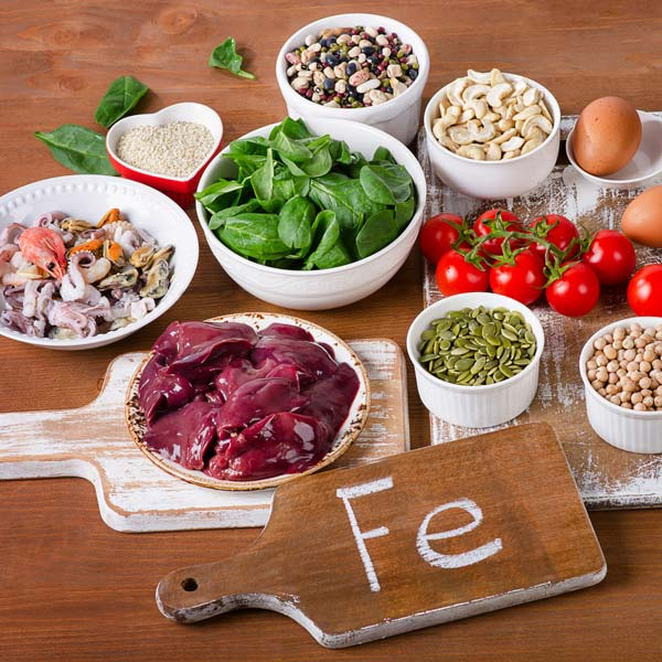 Iron, essential mineral for our body