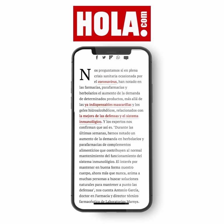 HOLA.com   Vitamina D, jalea real... así ha aumentado la venta de suplementos nutricionales en la cuarentena