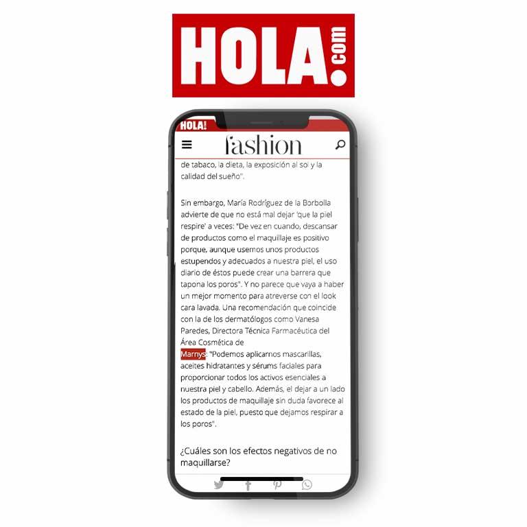 HOLA.com   Maquillarse para estar en casa: ¿sí o no? Descubre qué es mejor para tu piel y tu estado de ánimo