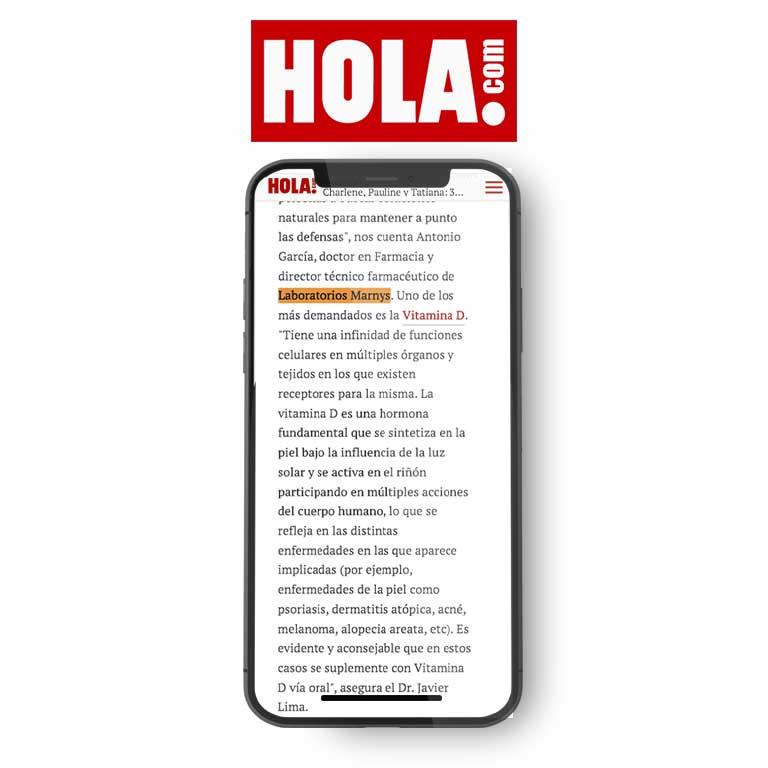 HOLA.com | Vitamina D, colágeno, biotina... ¿sabes por qué deberías tomar suplementos estos días?