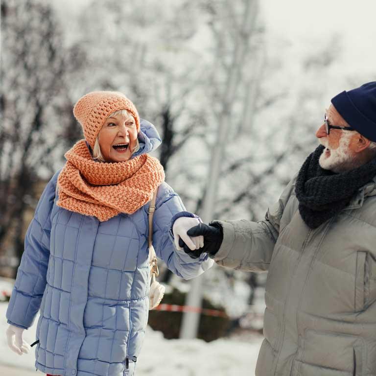 Huesos y articulaciones en forma frente al frío