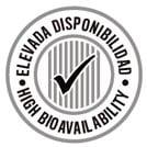 ELEVADA BIODISPONIBILIDAD