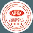 Ginseng 4 estrellas
