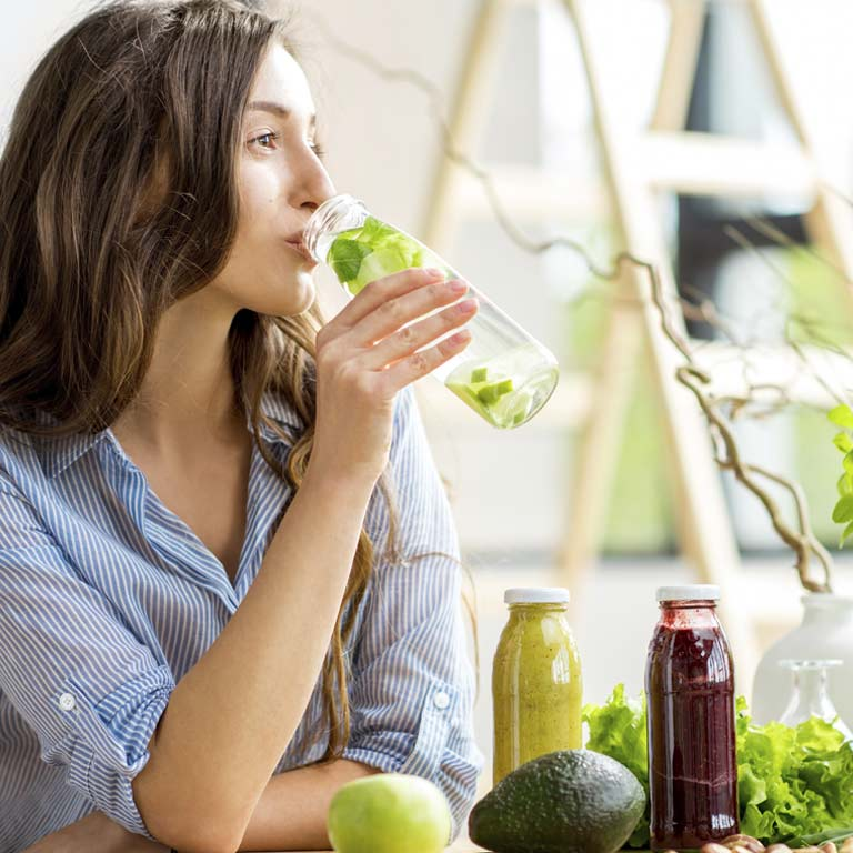 Cleanse yourself from the inside with a purifying diet