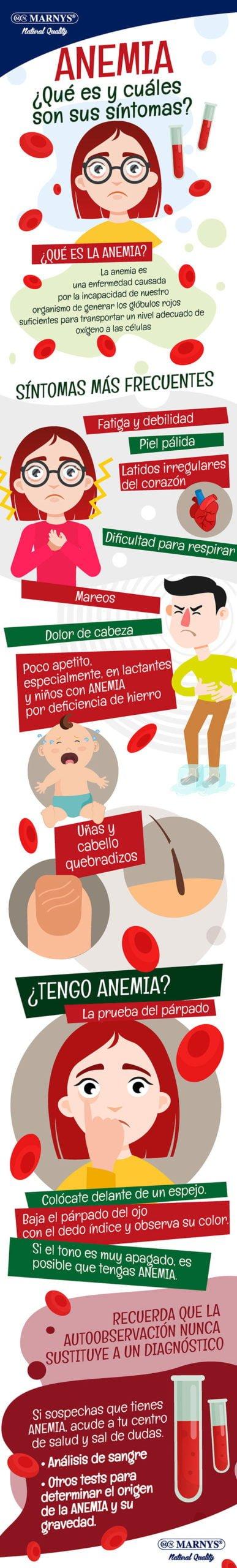 Infografía Anemia