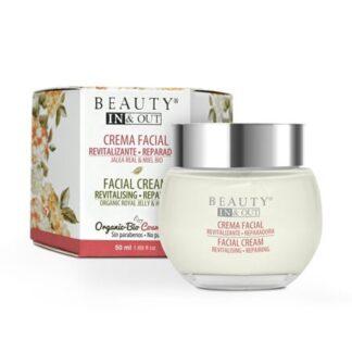 Crema Facial Revitalizante Reparadora Beauty In&Out