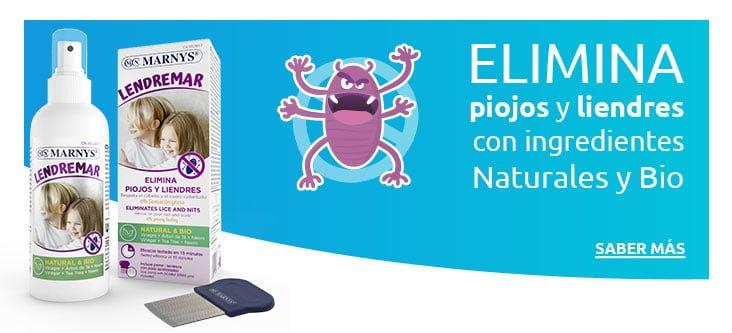 Lendremar, elimina piojos y liendres con ingredientes Naturales y Bio
