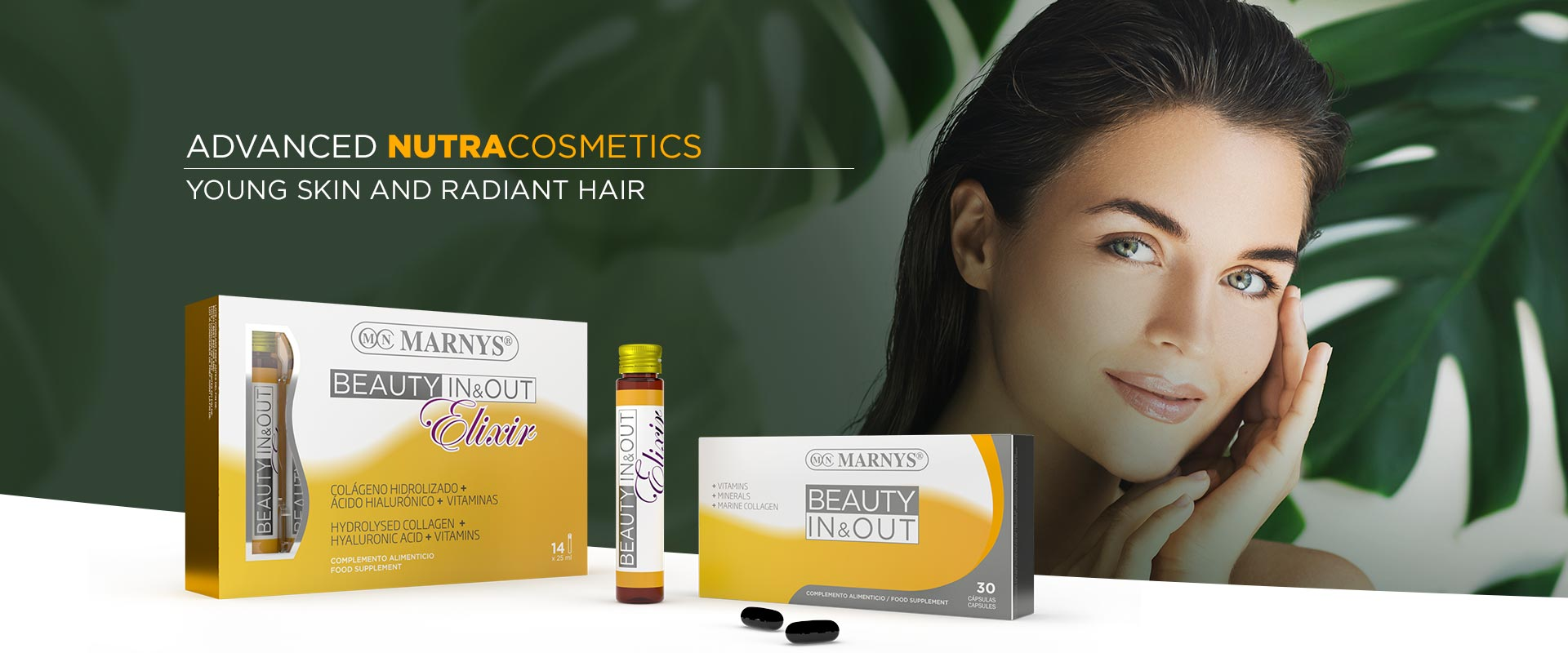YOUNG SKIN AND RADIANT HAIR   ADVANCED NUTRACOSMETICS