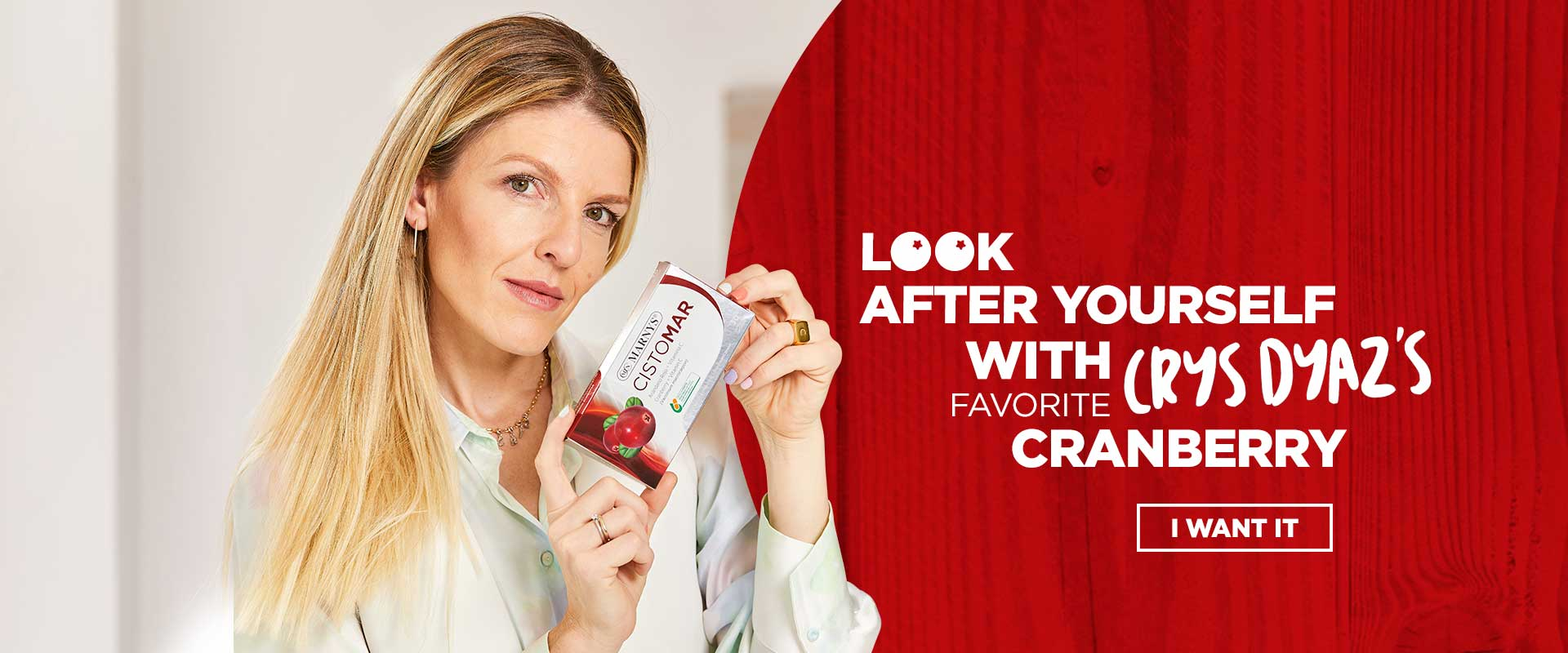 TAKE CARE OF YOURSELF WITH CRYS DYAZ'S FAVOURITE CRANBERRY