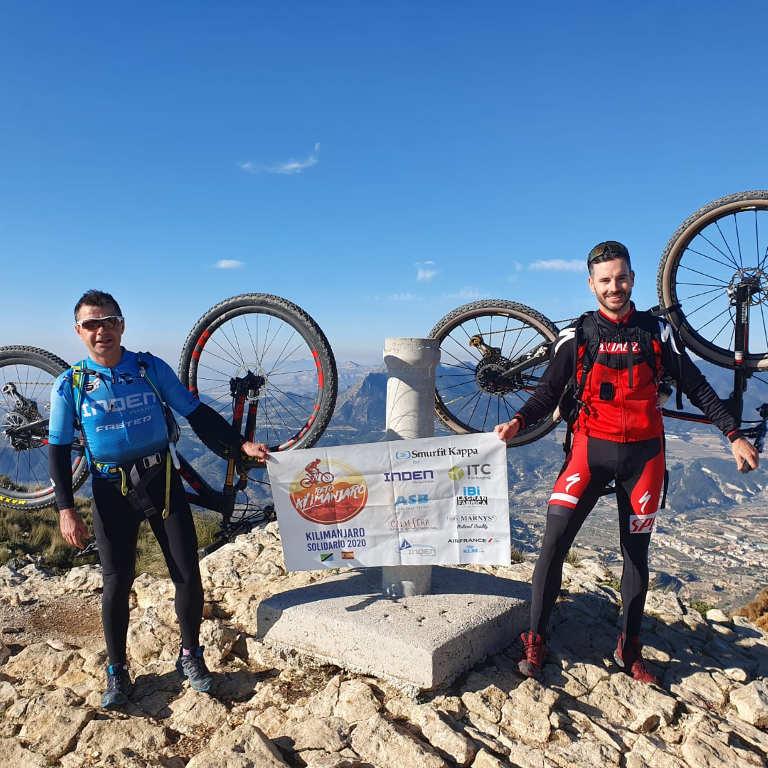 MARNYS apoya a los deportistas del Reto Kilimanjaro Solidario 2020