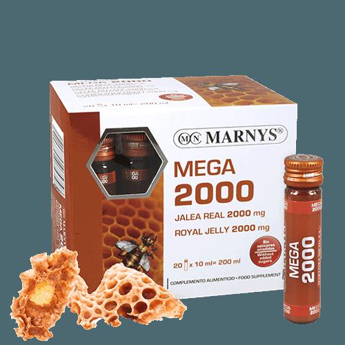MNV114 - Royal Jelly Mega 2000 mg vials