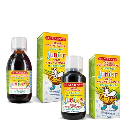 MN128-G - Junior Multivitamin Syrup with Royal Jelly